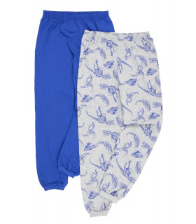 Set 2 Perechi de Pantaloni Pijama Jurassic World