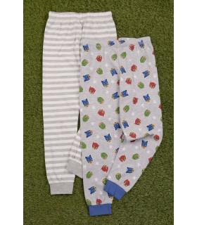 Set 2 Perechi de Pantaloni Pijama PJ Masks