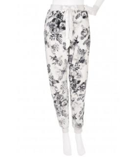 Pantaloni de Pijama cu Imprimeu Floral