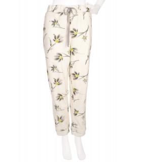 Pantaloni de Pijama cu Print Floral