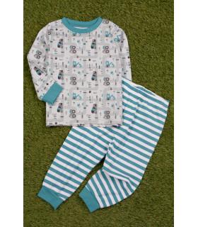 Pijama cu Masinute pentru Baieti
