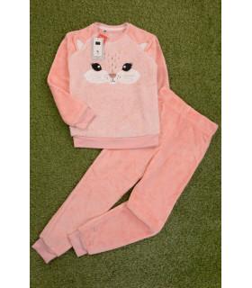Pijama Pufoasa Little Cat