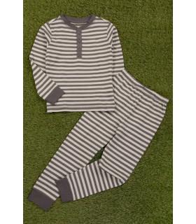 Pijama Gri in Dungi