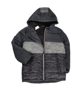 Jacheta de Iarna cu Print Militar