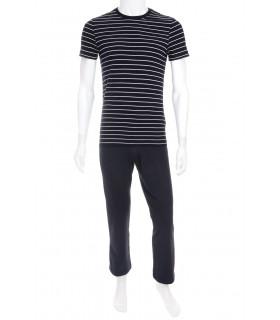 Pijama Navy cu Dungi