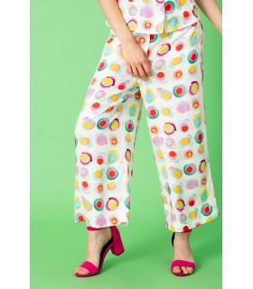 Pantaloni 3/4 Multicolor