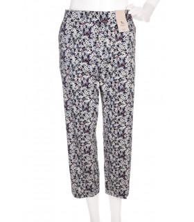 Pantaloni 3/4 cu Print Floral