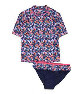 Costum de Baie cu Flori