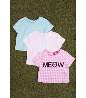Set Tricou Fete Meow